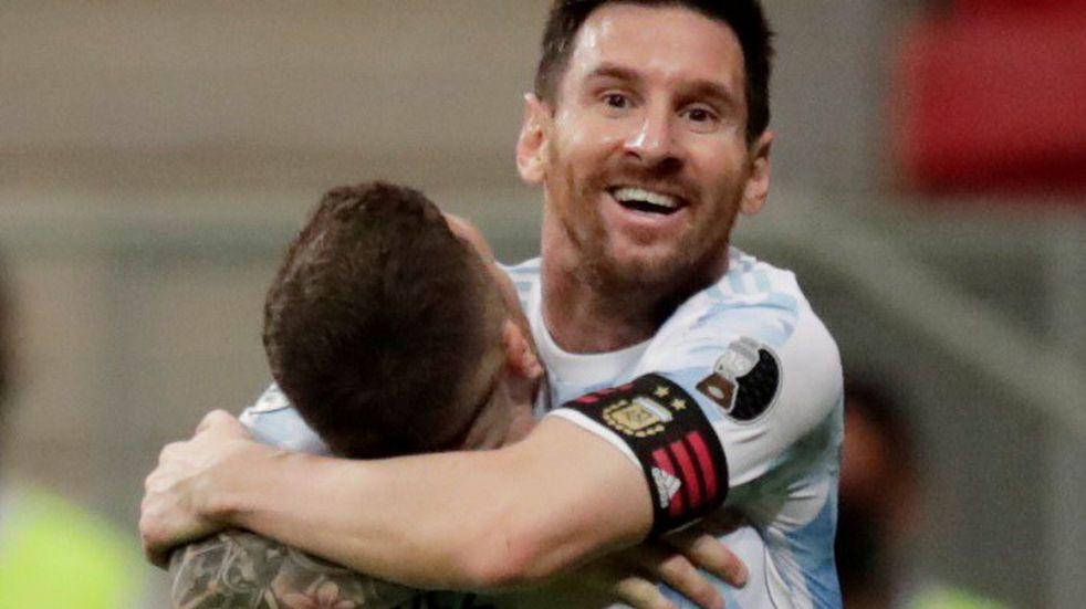Messi celebró el triunfo de la Selección y un nuevo récord personal en sus redes