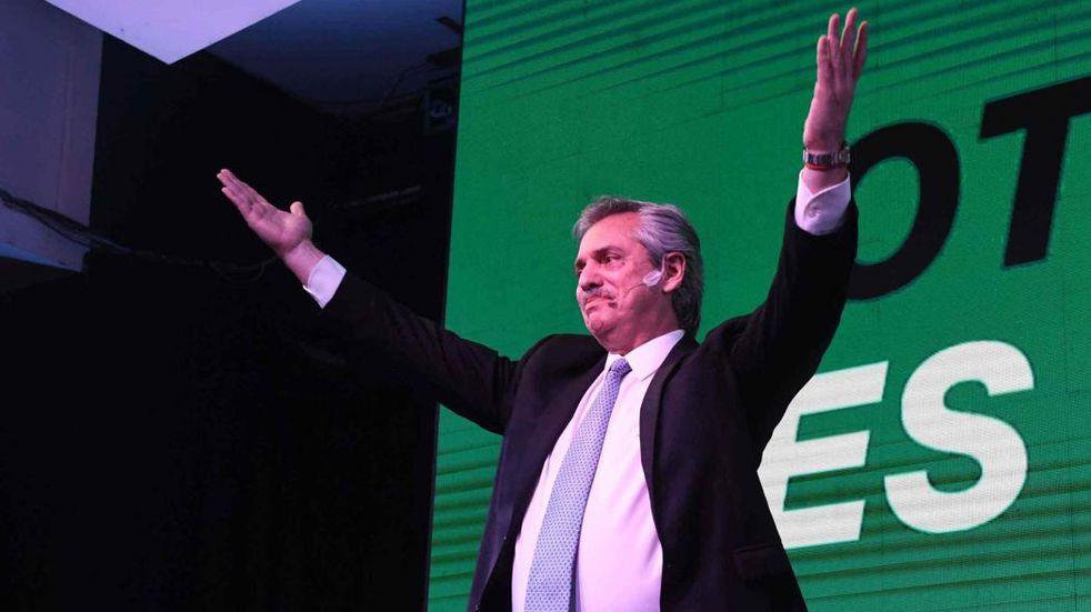 Alberto Fernández quiere 17 de octubre. (La Voz)