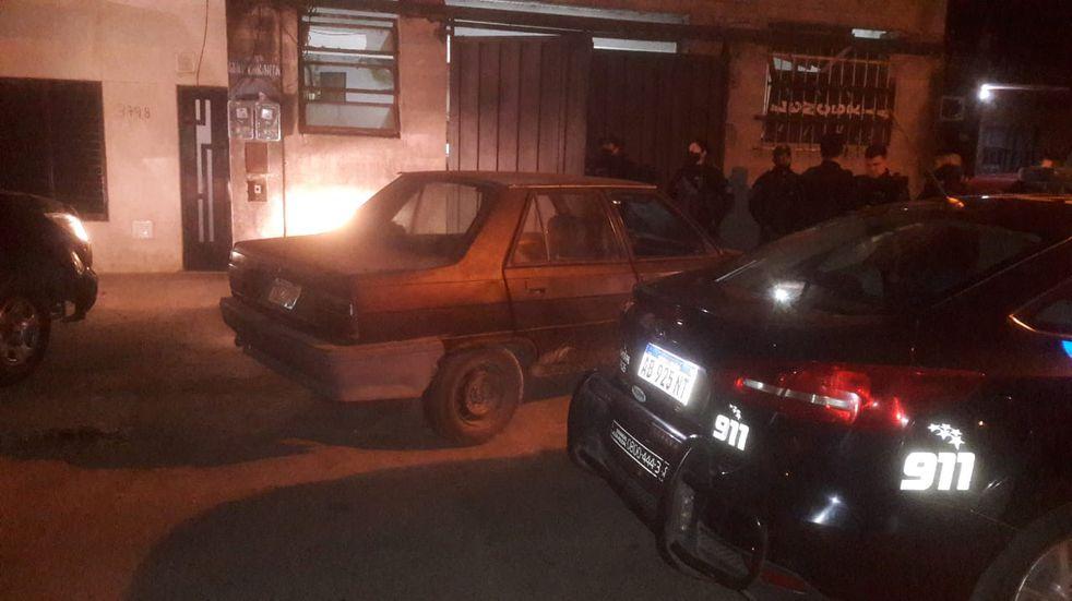 Dispararon contra un patrullero durante un control cerca de barrio Tío Rolo