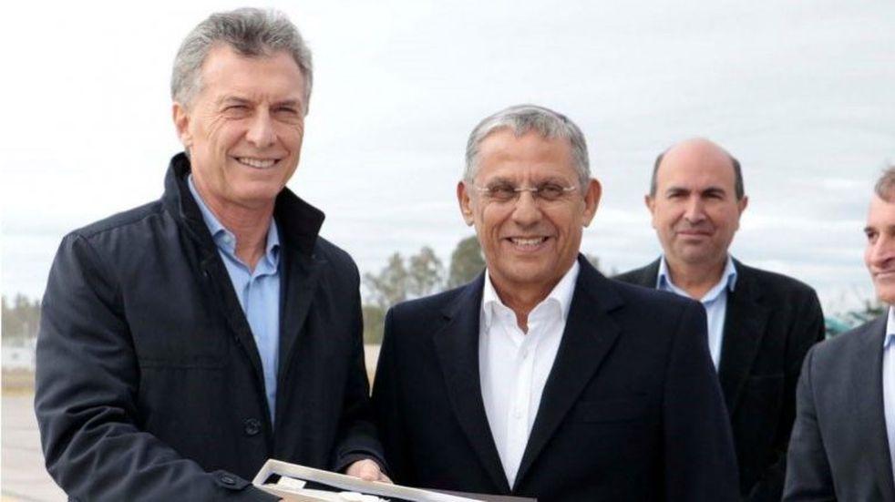 Mauricio Macri y Alberto Fernández despidieron a Horacio 'Pechi' Quiroga