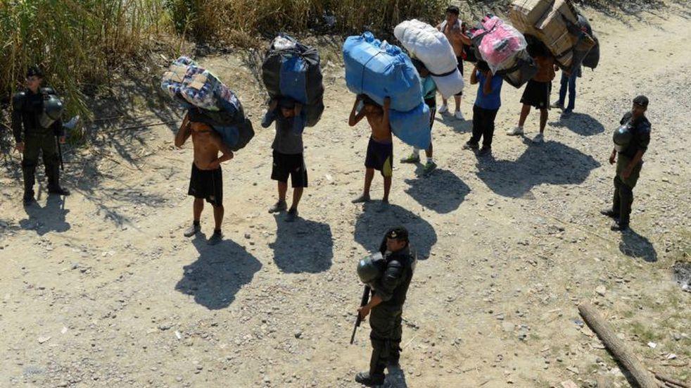 Frontera caliente: detuvieron a cinco bolivianos que ingresaron ilegalmente al país