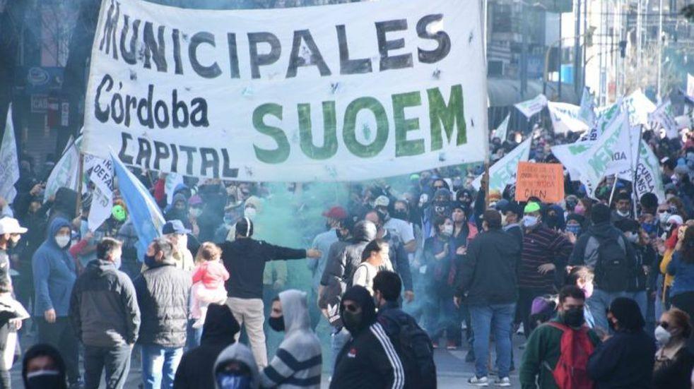 """Suoem anticipó que habrá más protestas; y """"sorpresivas"""""""