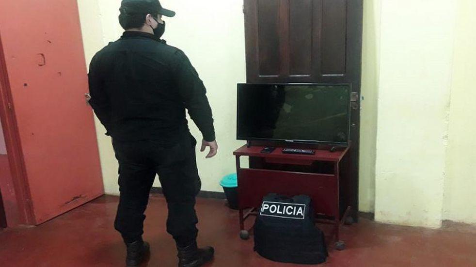 Eldorado: efectivos policiales recuperaron elementos electrónicos sustraídos