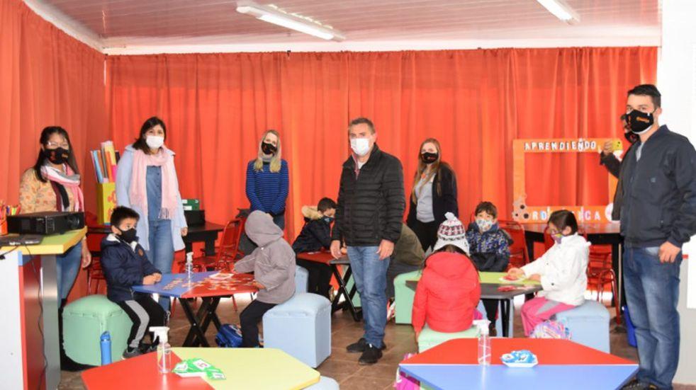 Iniciaron las clases en la Escuela de Robótica en Campo Grande