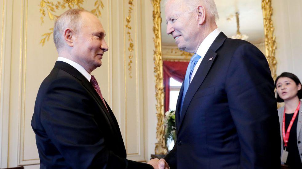 Joe Biden y Vladimir Putin, frente a frente en la cumbre de Ginebra