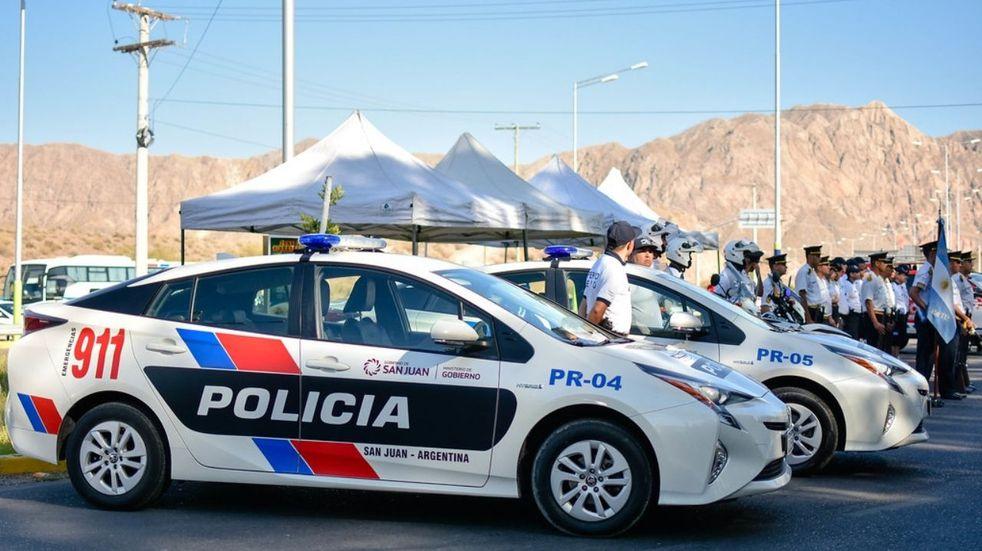 Las autoridades aprovecharán para desplegar un gran número de nuevas unidades que suman a la Policía de San Juan para reforzar las tareas de prevención del delito. Imagen de archivo