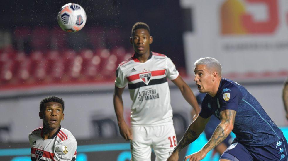 Copa Libertadores: Racing se trajo un valioso 1-1 de su visita al San Pablo