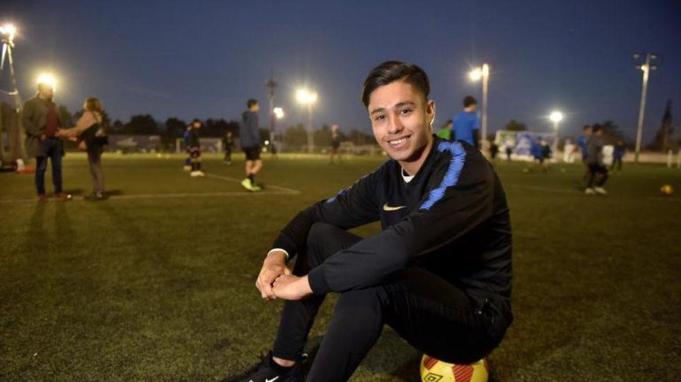 El joven cordobés que volvió a jugar en la reserva del Inter de Milán