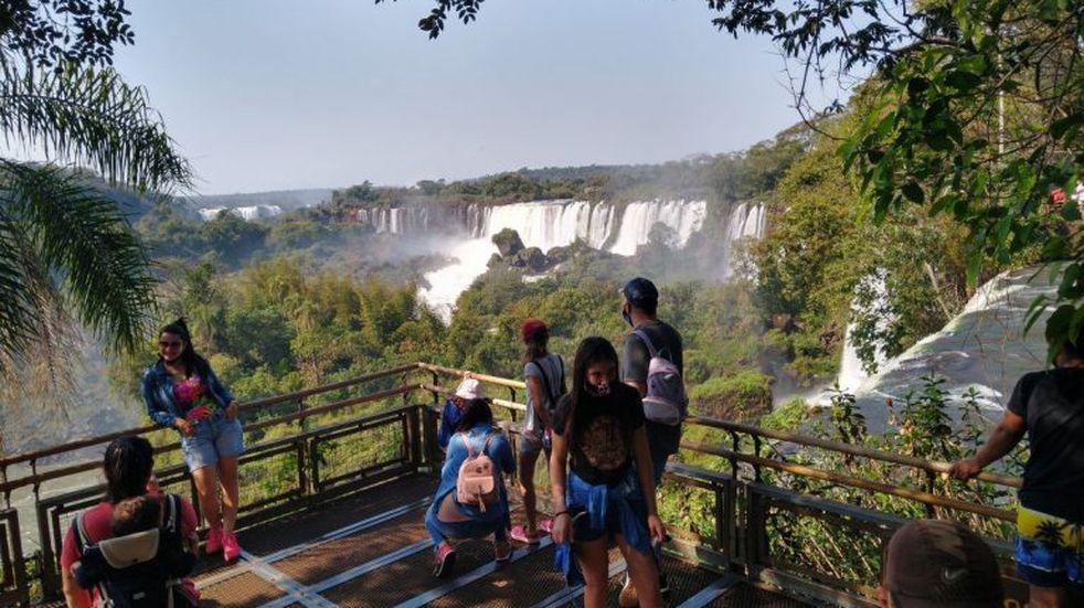 Cataratas del Iguazú: misioneros pueden solicitar turnos para visitarlas este fin de semana