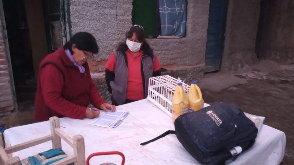 Malargüe: personal del área sanitaria recorrió los puestos en la zona de montaña