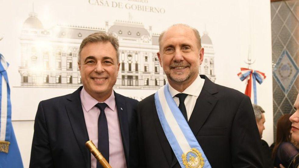 Luis Castellano participó del acto de asunción del Gobernador Omar Perotti