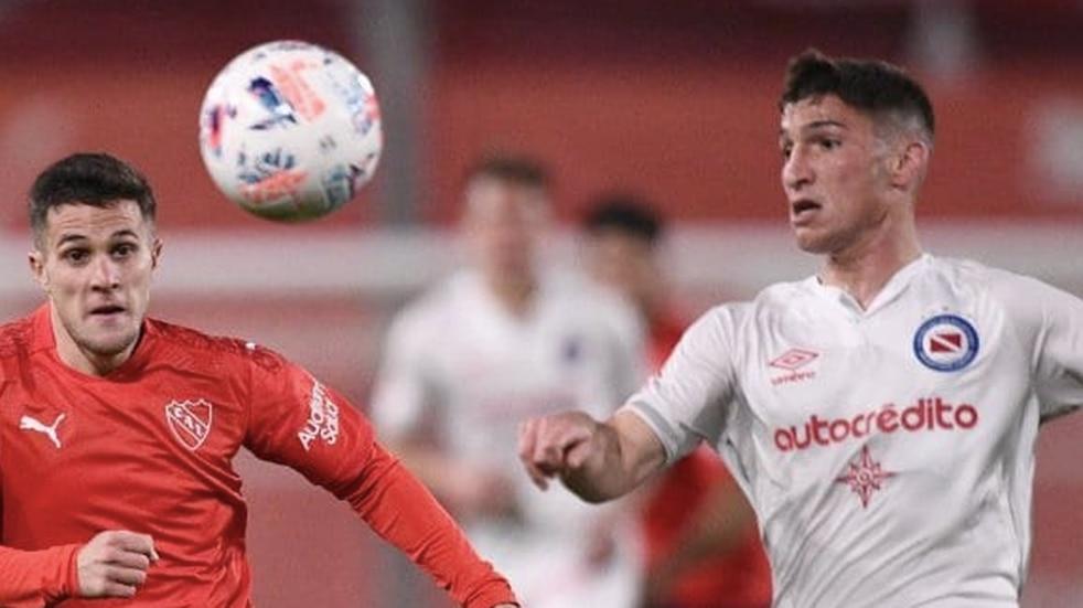 Independiente y Argentinos Juniors no se sacaron ventajas y empataron sin goles