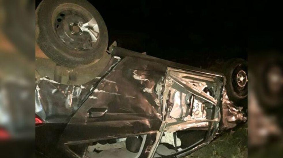 Accidente vial en Gobernador López dejó a un joven hospitalizado