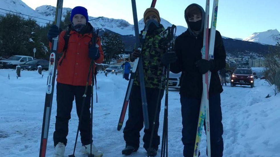Ushuaia: se realizará un desafío de esquí de fondo por equipos