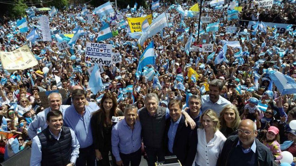 En Mendoza ganó la lista de Macri y Cornejo