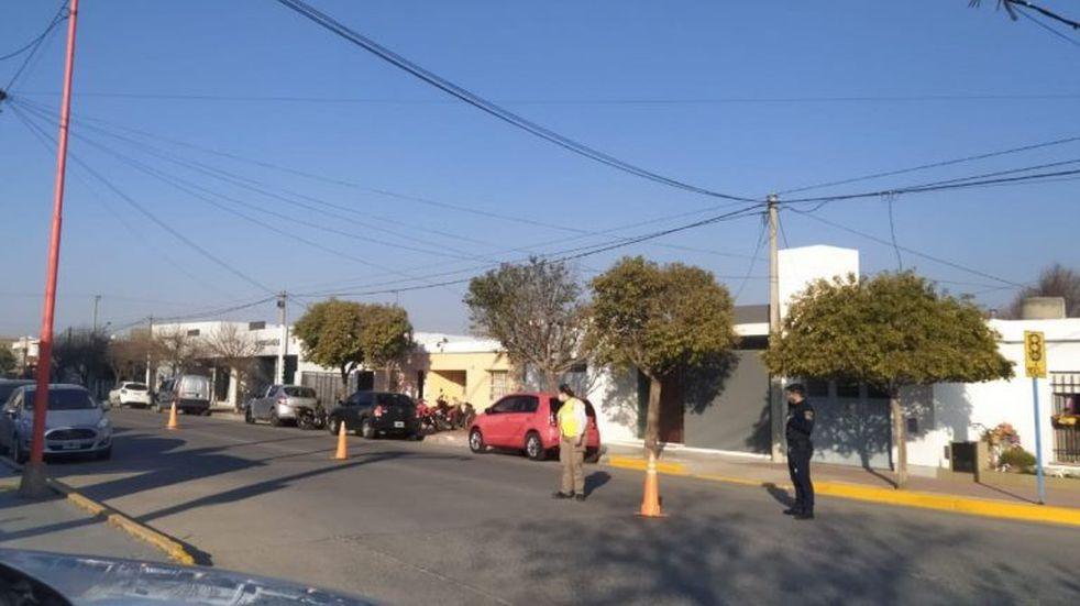 En un operativo en Arroyito secuestraron 9 motocicletas y labraron 21 actas