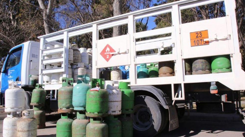 El camión de la garrafa a $300 visita Malargüe