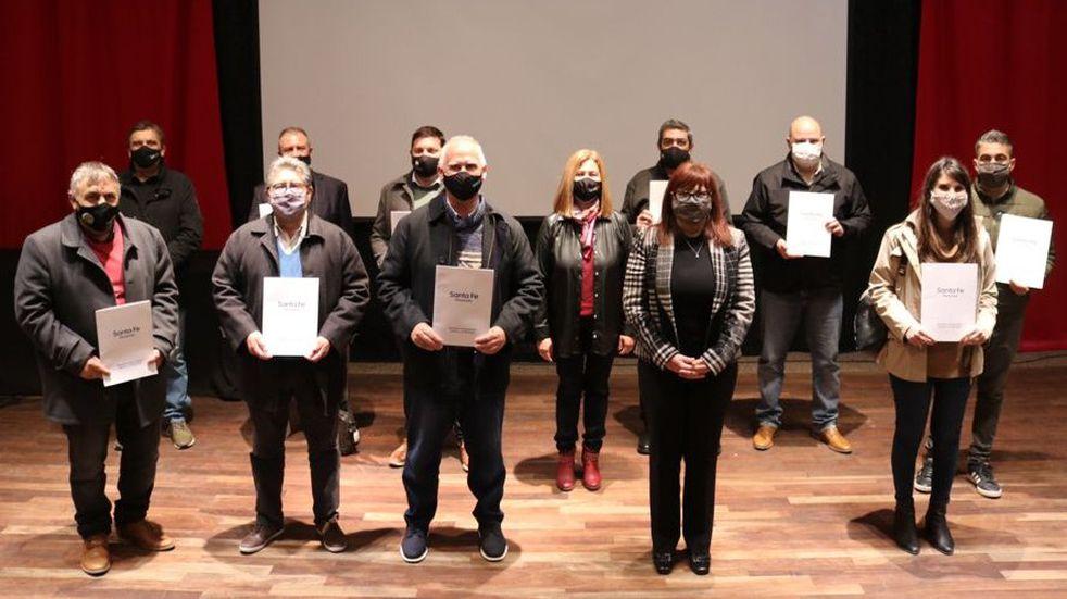Pujato firmó convenio para fortalecer áreas de igualdad, género y diversidad