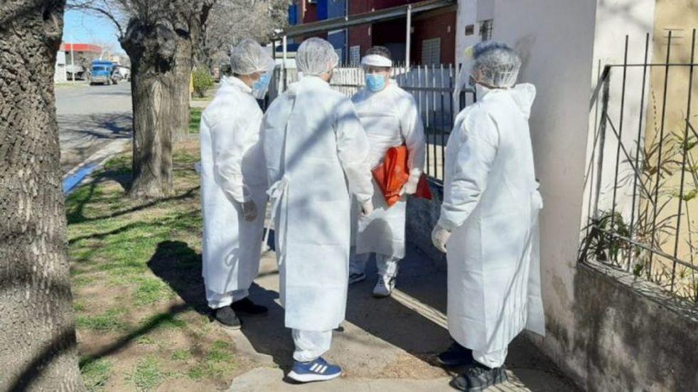 Comienza la búsqueda activa en Santa Rosa con los test de antígeno