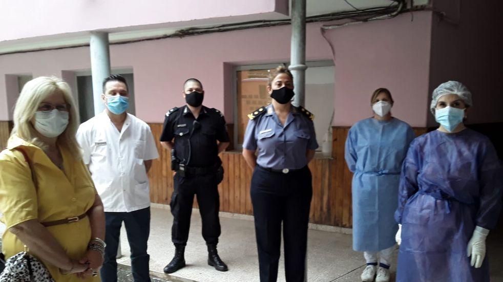 Hay 50 policías en todo el departamento Castellanos aislados o con coronavirus