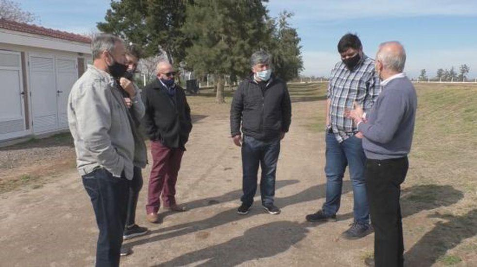 Brinkmann: Provincia entrega a la Municipalidad la Planta de Tratamiento Cloacal