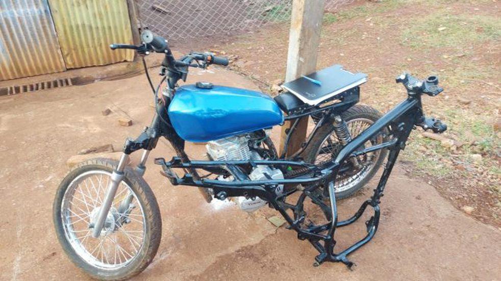 Oberá: dos detenidos por robo de motocicleta