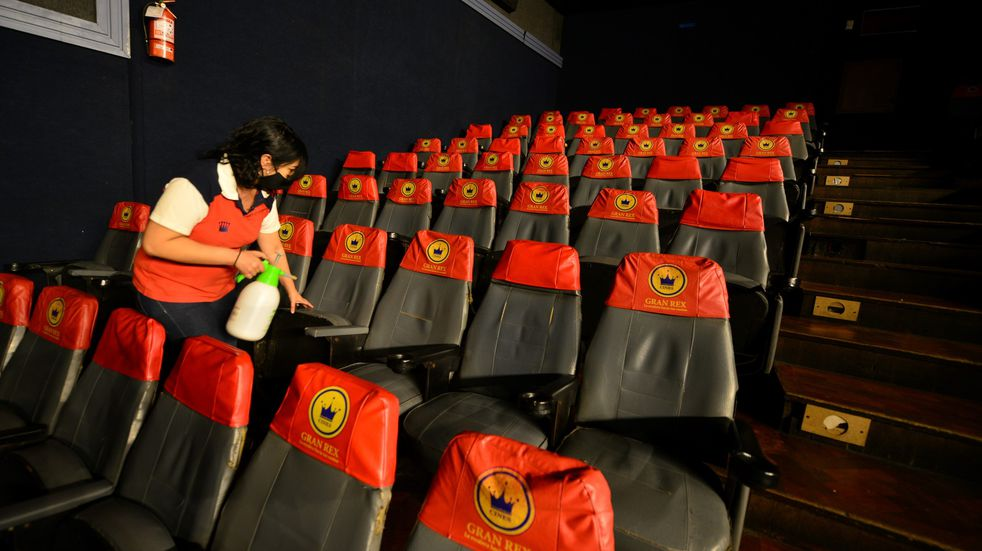 El cine Gran Rex aguantó las restricciones y volverá a abrir sus puertas