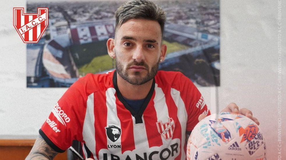 Instituto y su nueva ilusión de gol con Joaquín Molina