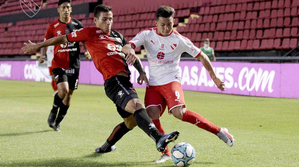 Independiente le ganó a Colón en Santa Fe.