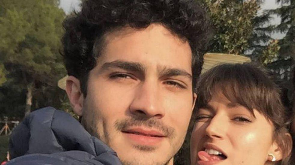"Las vacaciones de Úrsula Corberó junto a la familia del Chino Darín: ""Bariló i'm in ló"""