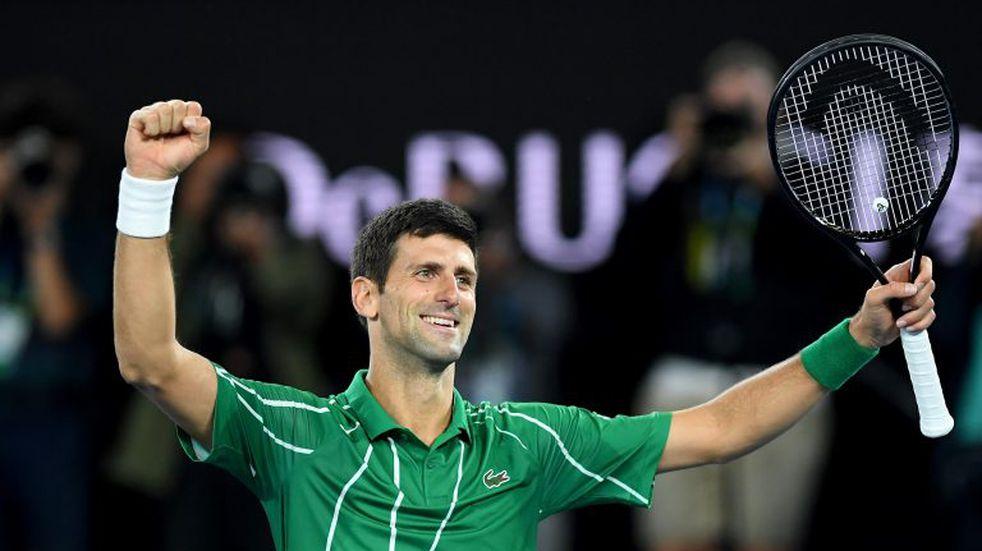 Djokovic ganó por octava vez el Abierto de Australia y recupera el número 1