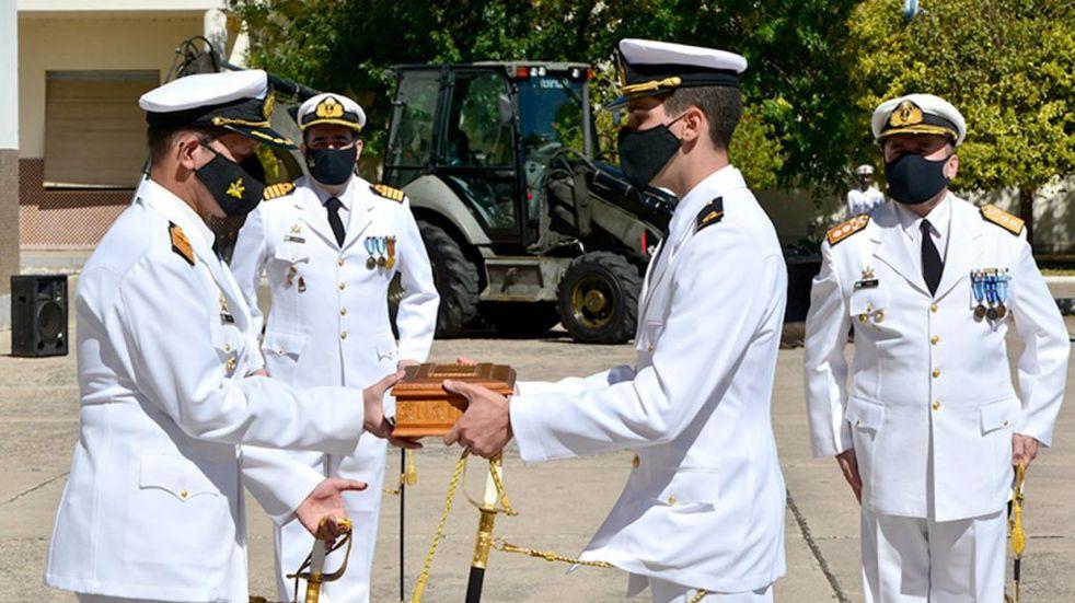 El nuevo comandante de la flota de mar es un salteño