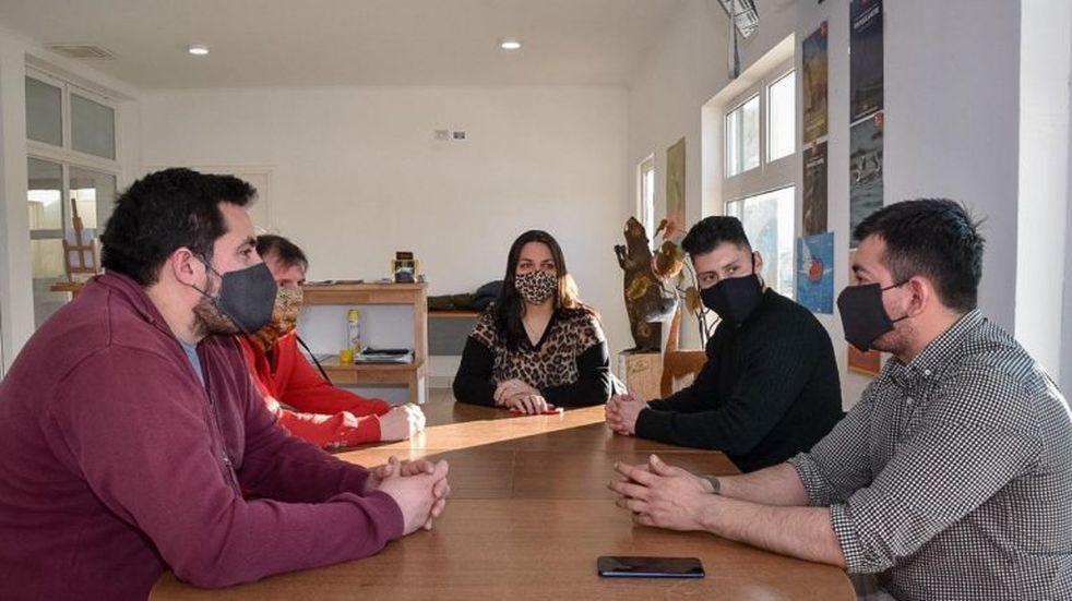 Tolhuin recibió a autoridades de turismo de Ushuaia