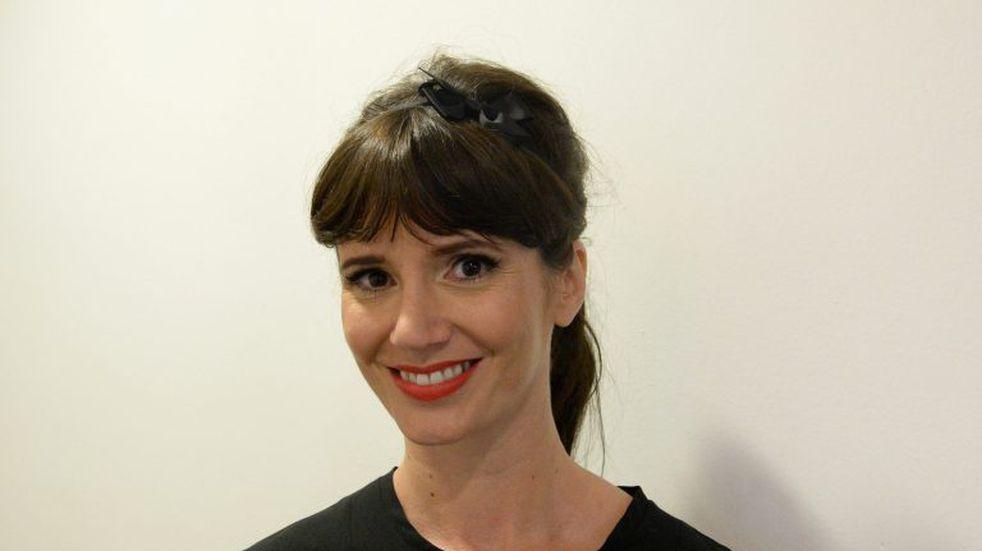 Griselda Siciliani posó con un vestido rojo que causó furor