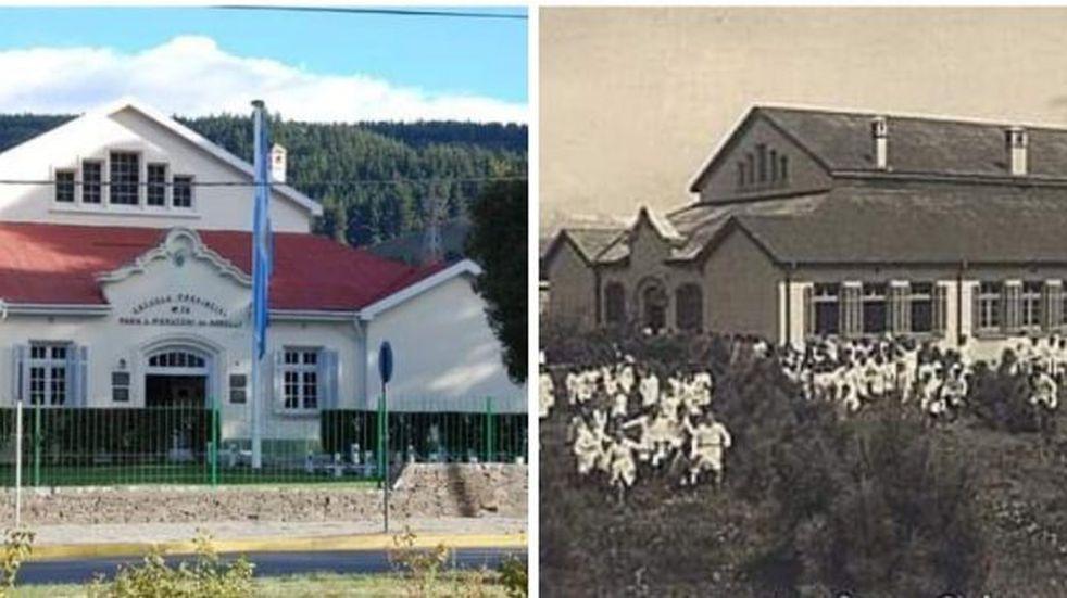 El antes y el ahora de Esquel en fotos