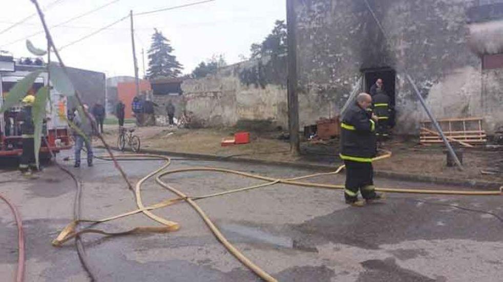 Tragedia al sur de Córdoba: en incendio, muere un bebé de 11 meses