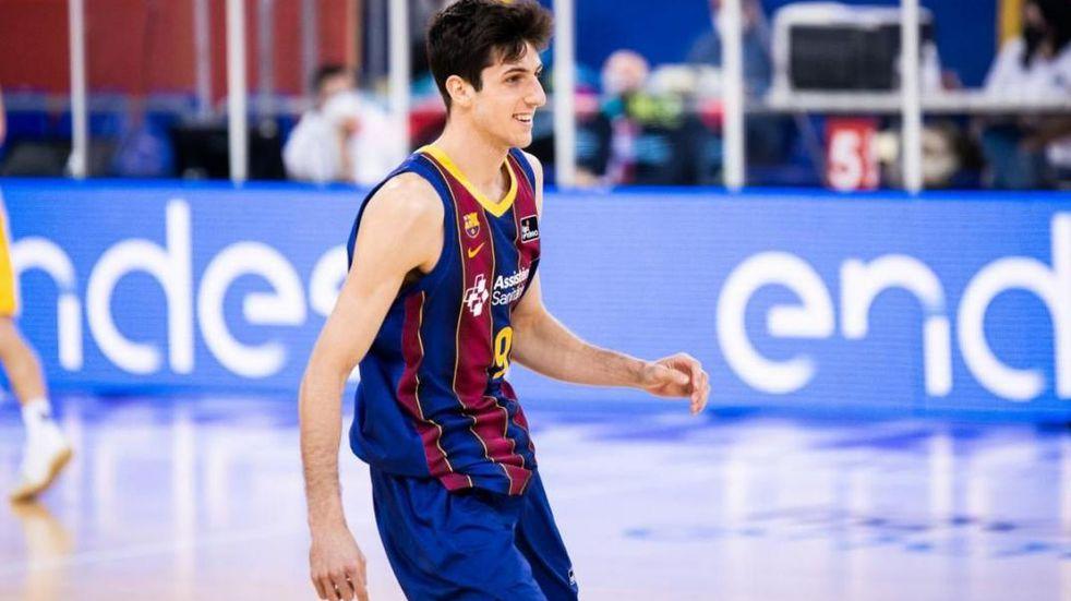 Siete de Leandro Bolmaro en el segundo juego de playoffs por Euroliga del Barcelona