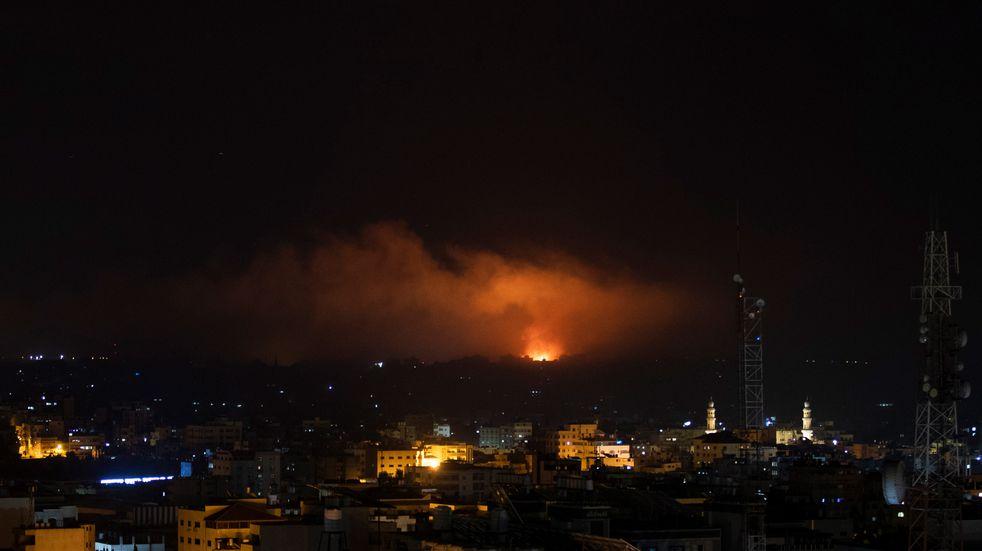 La escalada no frena: Hamas bombardeó Tel Aviv e Israel atacó Gaza durante toda la noche