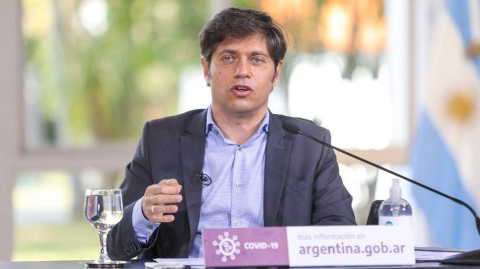 """Axel Kicillof dijo que """"es un error abrir de más"""" y restringió actividades en la provincia de Buenos Aires"""