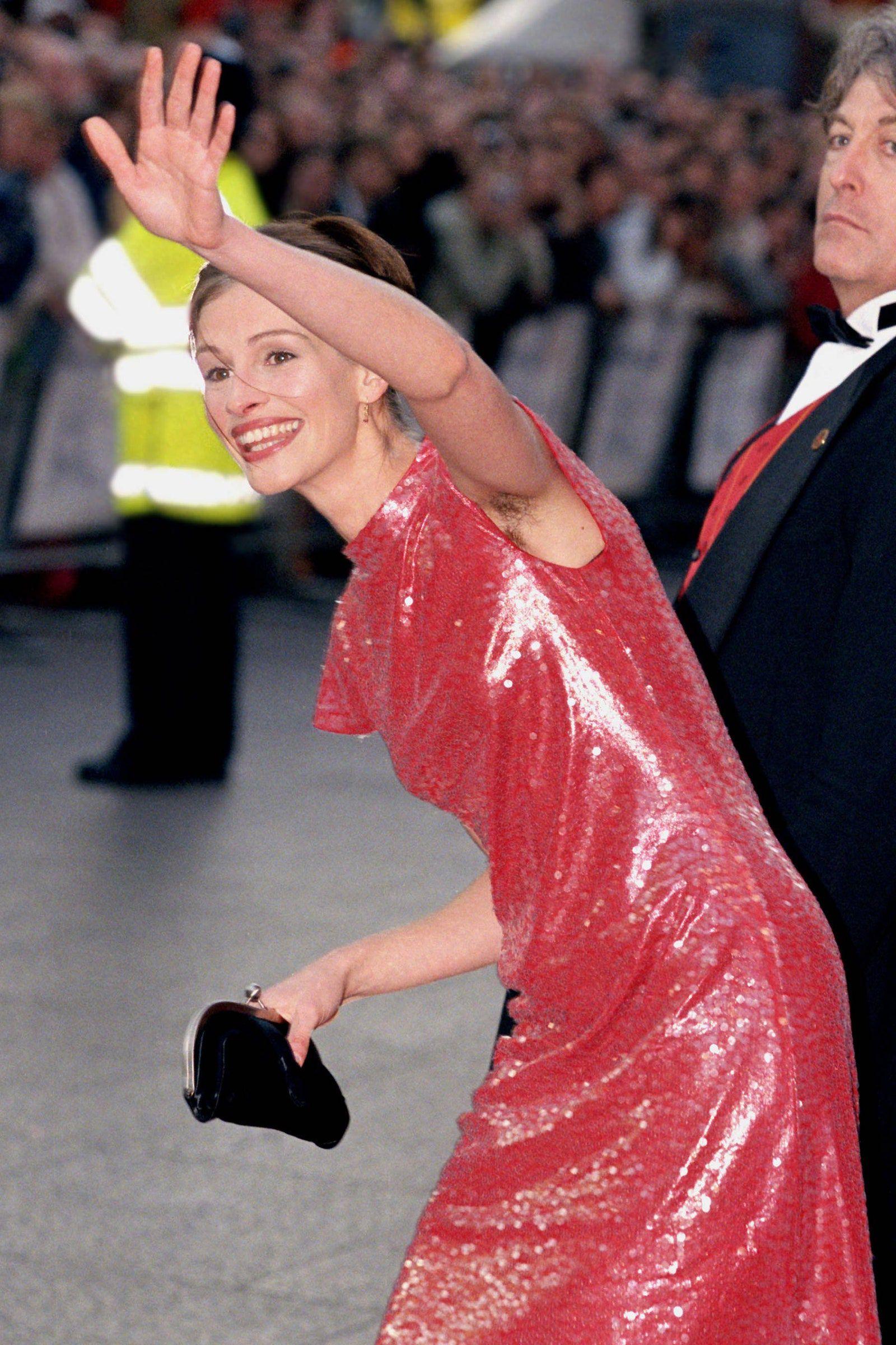 La foto de Julia Roberts en 1999.