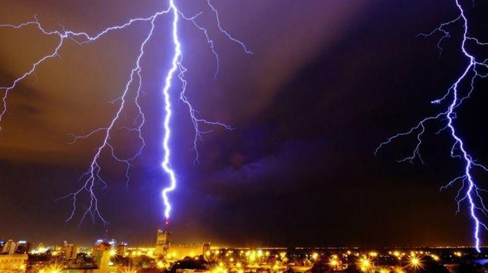 Continúa el alerta por tormentas fuertes para el centro y norte de San Luis