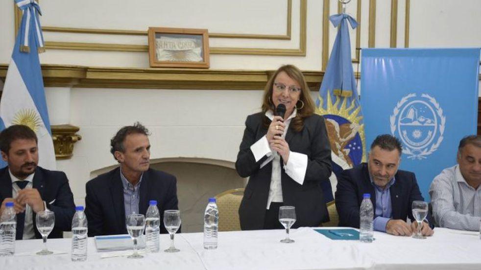 Santa Cruz se siente parte del país aseguró la gobernadora Alicia Kirchner