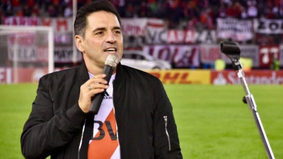 Hinchas de River repudian que Mariano Iúdica sea el conductor de los festejos por el aniversario de la Copa Libertadores
