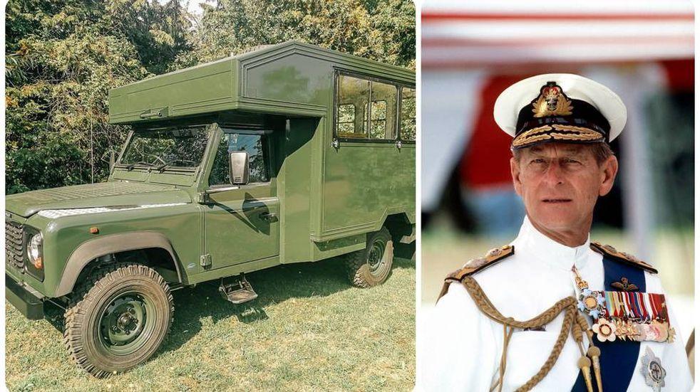 El príncipe Felipe diseñó el coche fúnebre que lo trasladó