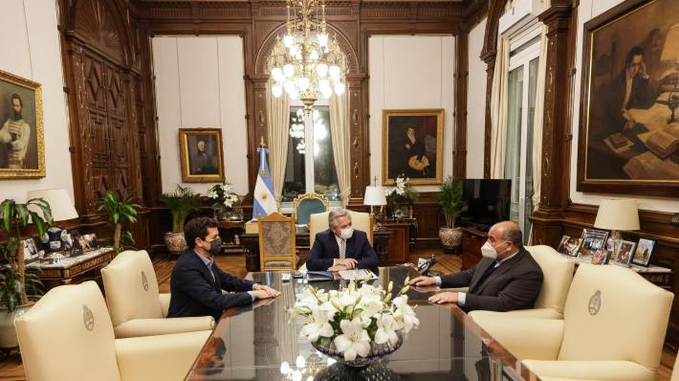 El gobernador Manzur se reunió con el presidente Alberto Fernández en Buenos Aires