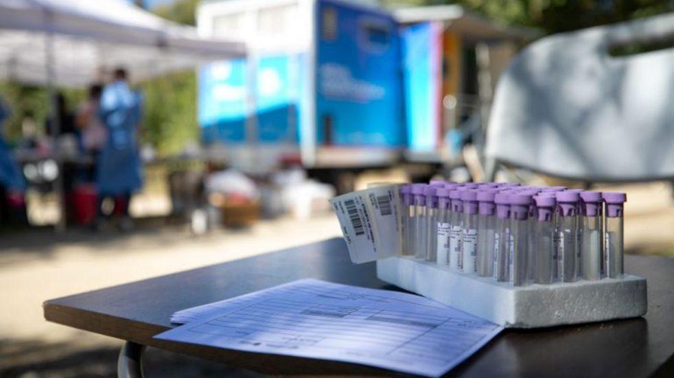 Testeos del operativo Identificar en Villa Dolores
