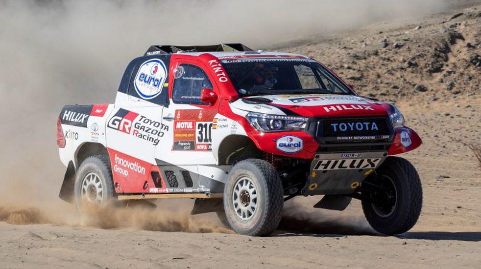 Dakar 2020: Alonso, de a poco en su primera experiencia