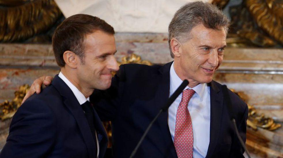 Cómo es la reforma laboral que Macri le elogió a Macron
