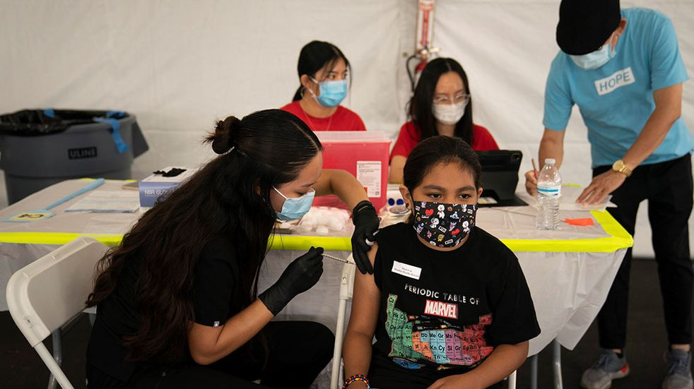 Se abre la vacunación en la Ciudad de Buenos Aires para niños de entre 3 y 11 años con comorbilidades.