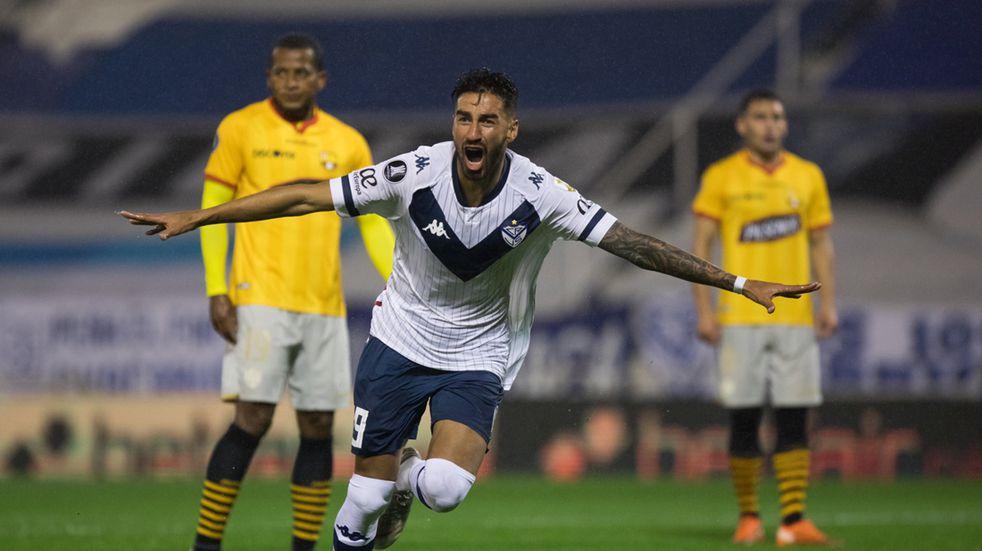 Copa Libertadores: Vélez le ganó por la mínima a Barcelona de Ecuador